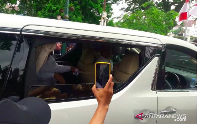 Prabowo Bawa Putranya Bertemu Presiden Jokowi