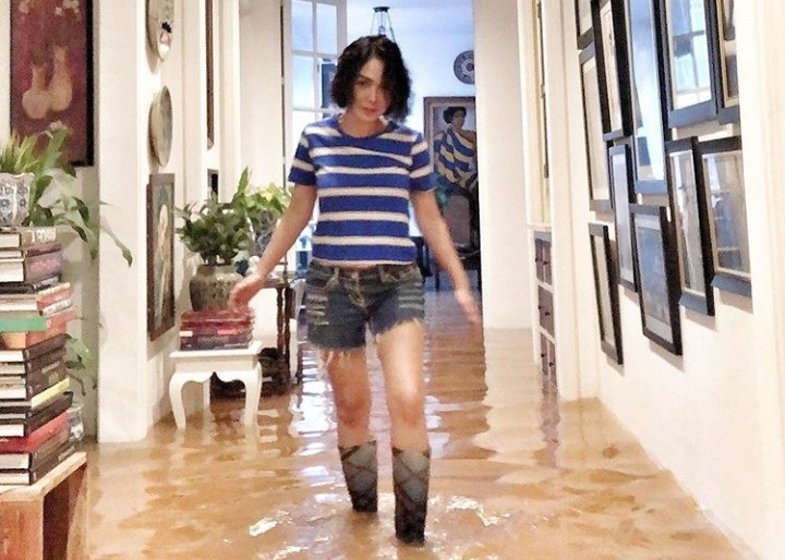 Firasat Yuni Shara Sebelum Rumahnya Terendam Banjir - JPNN.com