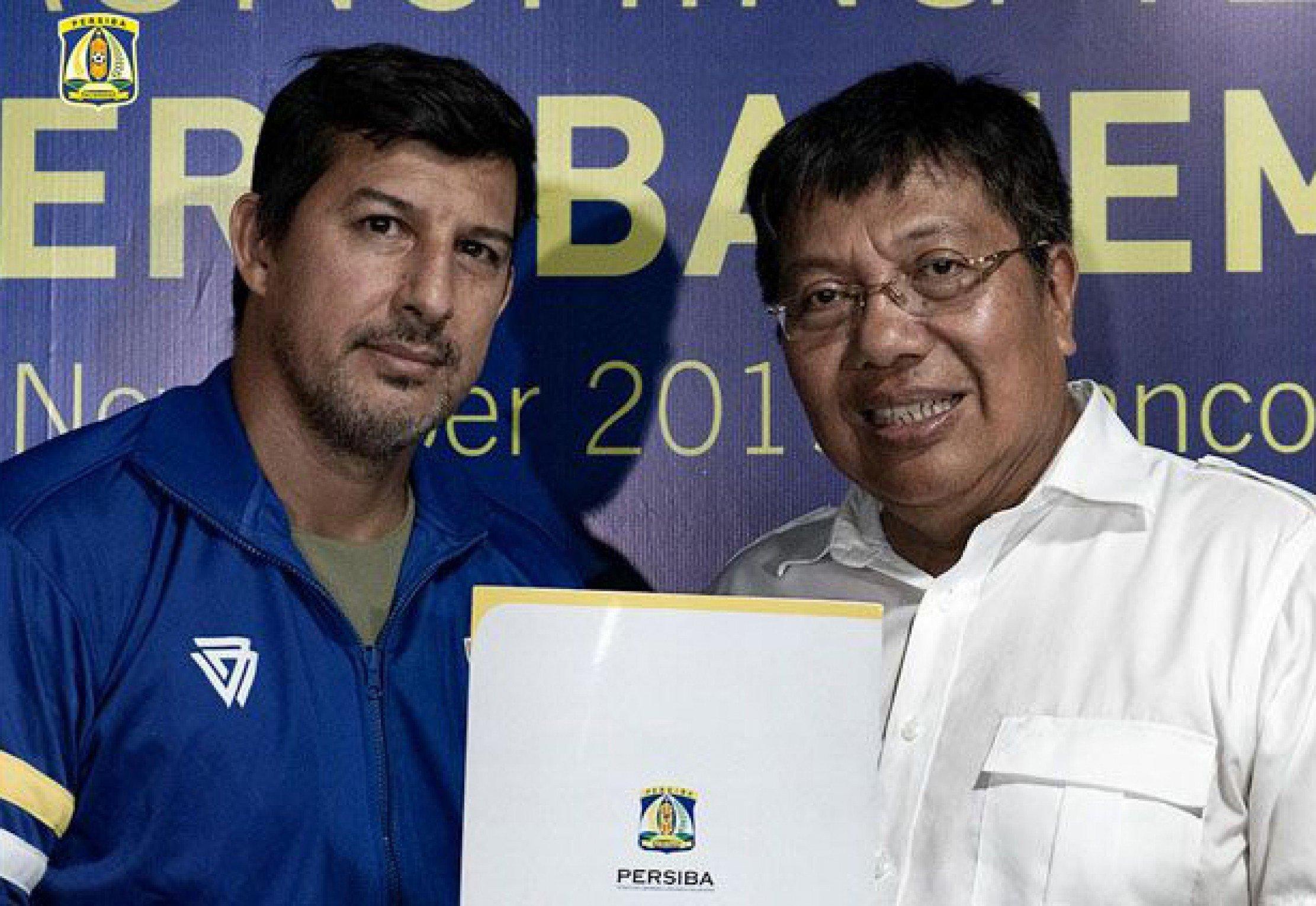 Alfredo Vera Resmi Jadi Pelatih Persiba Balikpapan