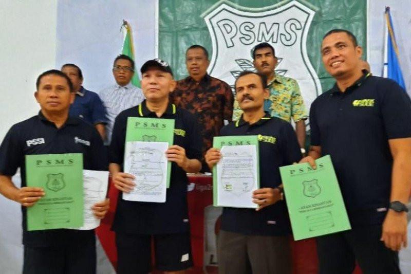 Philip Hansen Resmi Jadi Pelatih PSMS Medan