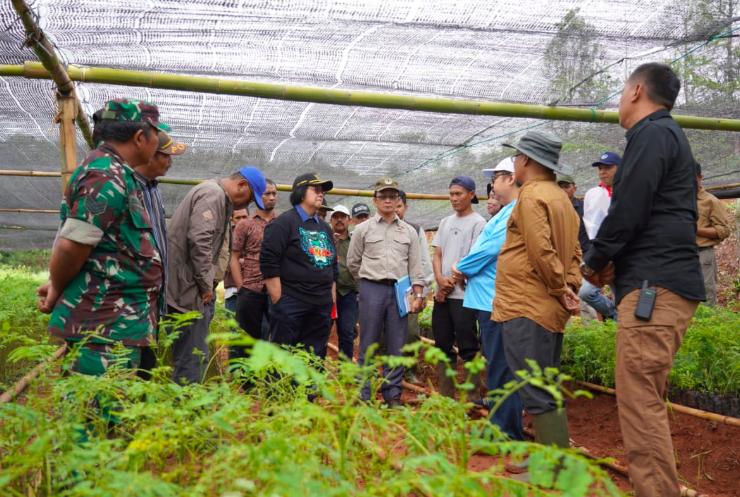 225 Kebun Bibit Desa Siap Hijaukan Bogor dan Lebak - JPNN.com