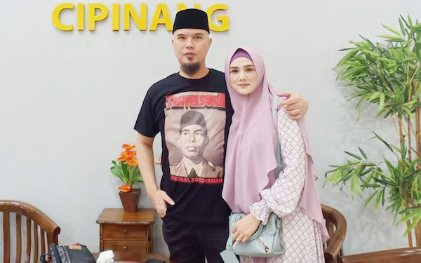 Ahmad Dhani Melayat ke Rumah Baim Wong, Ini yang Terjadi - JPNN.com