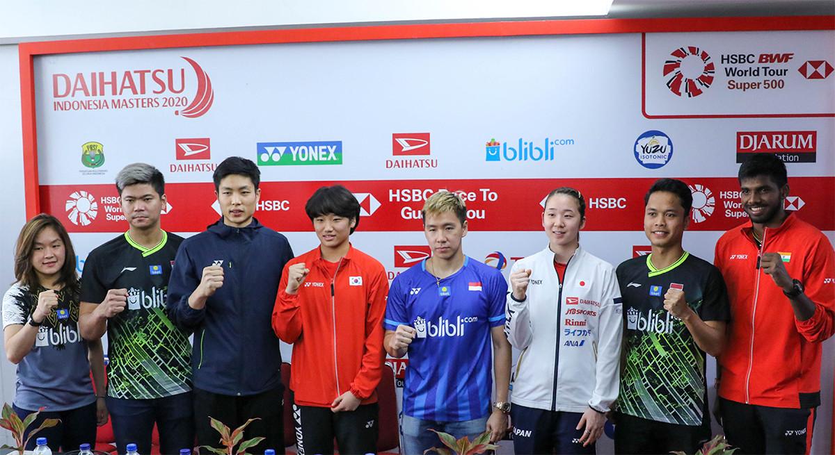 267 Pemain Berebut Rp 5,4 Miliar di Indonesia Masters 2020 - JPNN.com