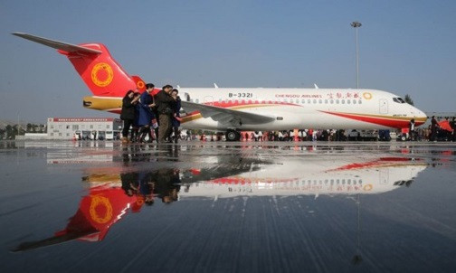 Pesawat ARJ21 Buatan Tiongkok Layani 37 Rute Penerbangan Komersial - JPNN.com