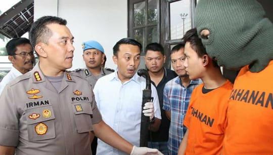 Nih Tampang Pelaku Pembacokan di Jalan M Yusuf Bandung - JPNN.com