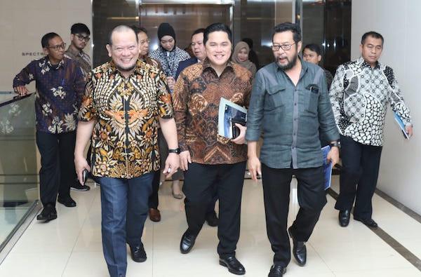 Ketua DPD RI Dukung Roadmap Erick Thohir Soal Tata Kelola BUMN - JPNN.com