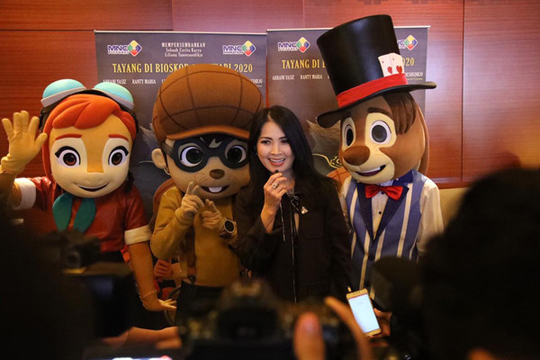Liliana Tanoesoedibjo: Film Animasi Indonesia Bisa Go International - JPNN.com