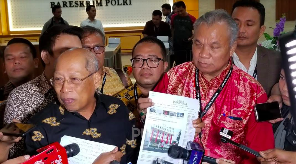 Konsultasi ke Bareskrim, Tim Hukum PDIP Perkuat Bukti Jerat Oknum di KPK - JPNN.com