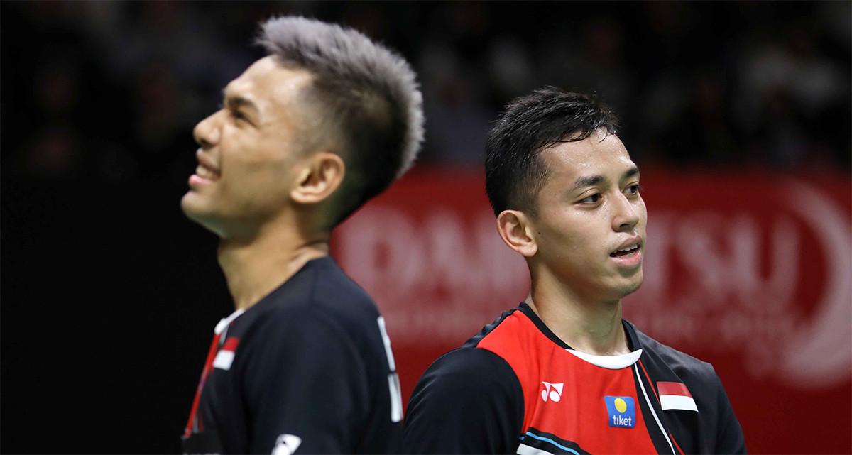 Minions Ketemu Daddies di Final Indonesia Masters 2020, FajRi jadi Korban - JPNN.com