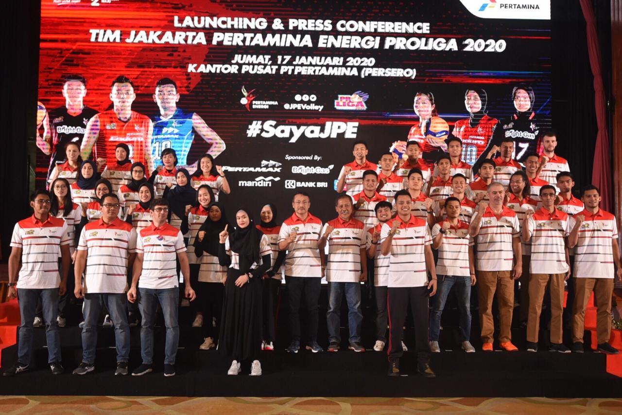 Bertabur Pemain Bintang, Jakarta Pertamina Energi Rilis Skuad Proliga 2020 - JPNN.com