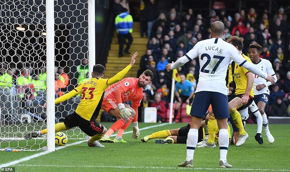 Watford Berbagi Poin dengan Tottenham