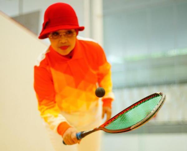 Sylviana Murni Targetkan Tenis Dinding Indonesia Raih Medali Emas