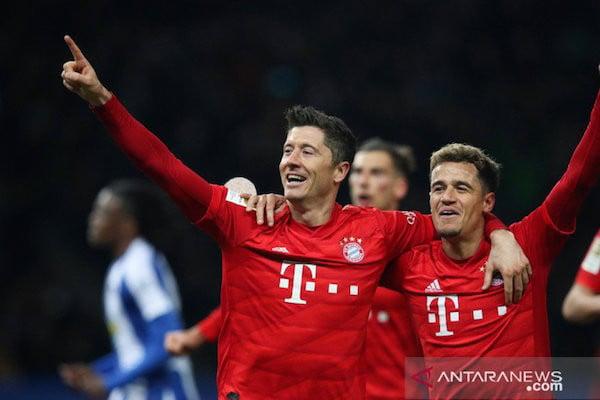 Bayern Menang Telak di Markas Hertha - JPNN.com