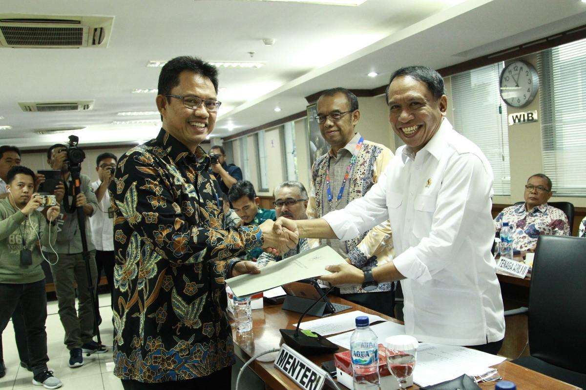 DPD Minta Menpora Perhatikan Infrastruktur Olahraga di Daerah
