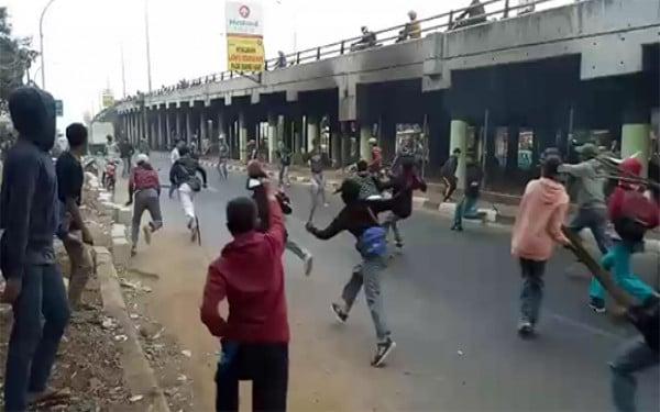 Tangan Pelajar di Bogor Putus Dibacok Senjata Tajam - JPNN.com