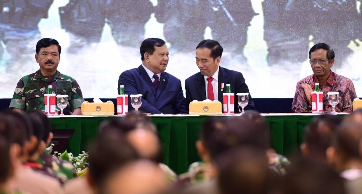 Pesan Jokowi ke Prabowo, Hati-Hati Menggunakan Anggaran - JPNN.com