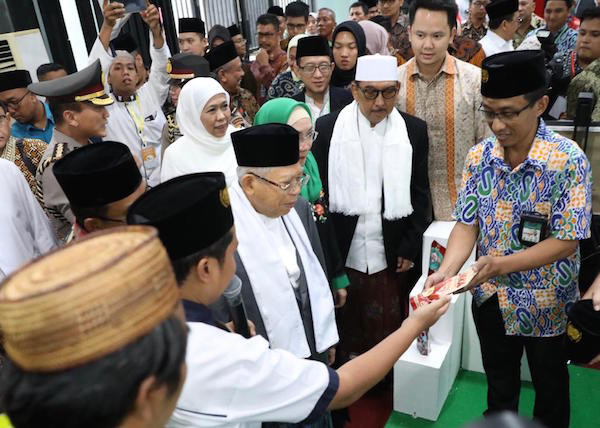 Hari Santri, Wapres Harap Pesantren Ambil Peran di Era Industri 4.0 - JPNN.com