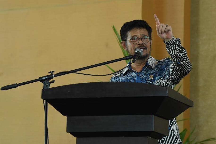 Mentan Syahrul Ingin Tingkatkan Usaha Tani Menjadi Skala Bisnis - JPNN.com