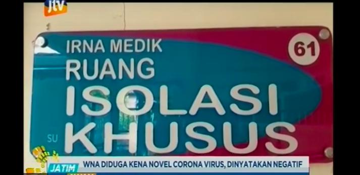 Sakit Flu dan Batuk, WNA Tiongkok di Surabaya Langsung Diperiksa Khusus di RS - JPNN.com