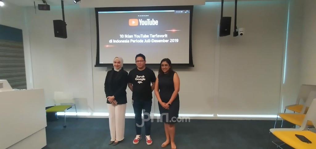 Daftar 10 Iklan Terfavorit di Youtube Indonesia - JPNN.com