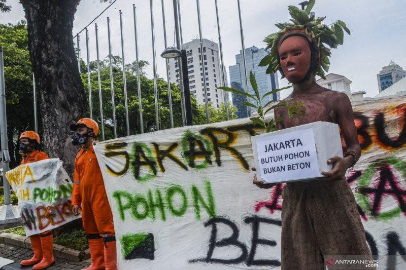 Walhi: Jakarta Butuh Pohon, Bukan Beton - JPNN.com