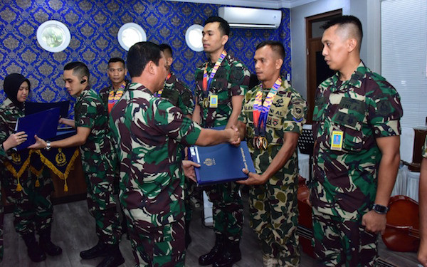 Atlet TNI AL Peraih Medali Emas SEA Games 2019 Dapat Penghargaan Dari Kasal - JPNN.com