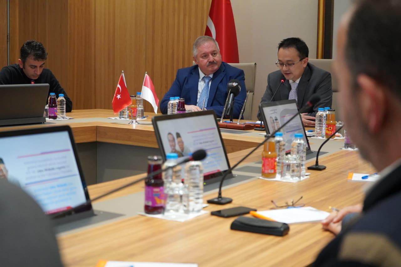 Indonesia dan Turki Sepakati Percepatan Penyelesaian Perundingan IT-CEPA