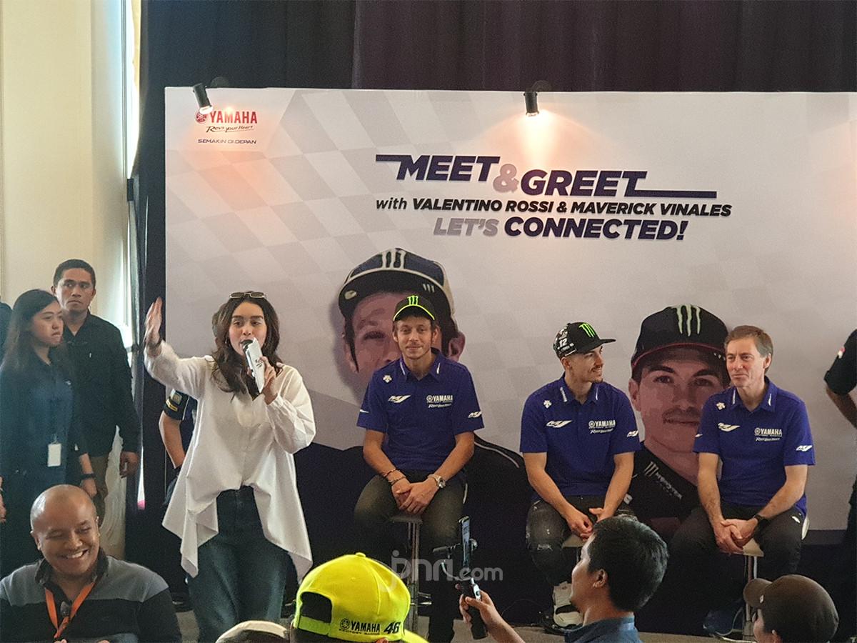 Valentino Rossi: Aku Tresno Indonesia, Vinales Membalas: Aku Cinta Indonesia
