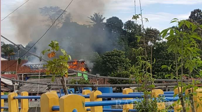 Pondok Pesantren di Bogor Terbakar, Lihat Fotonya - JPNN.com