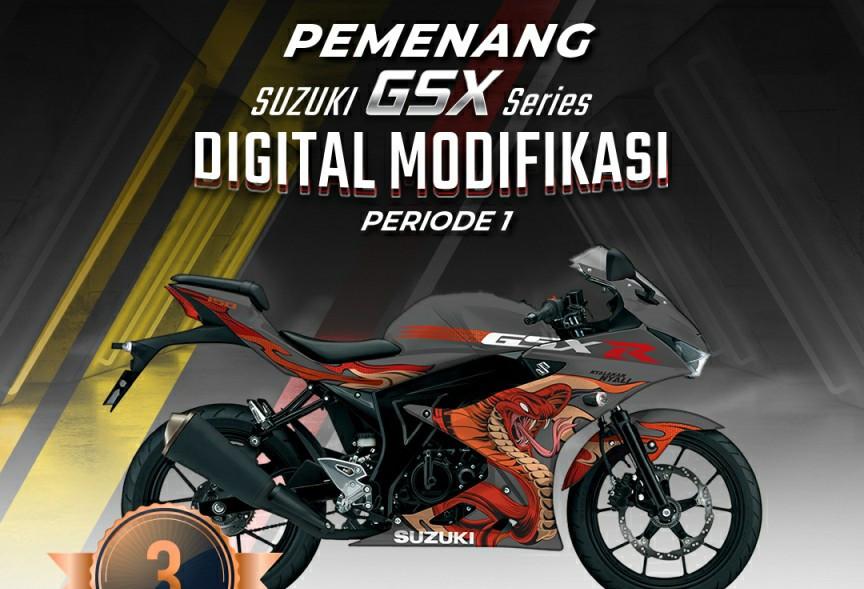 Berikut Pemenang Suzuki GSX Series Digital Modifikasi Periode Pertama - JPNN.com
