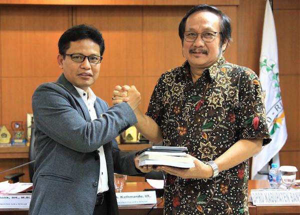 Minta Dukungan Pemekaran, DPRD Banyumas Sambangi Anggota DPD RI Jateng - JPNN.com