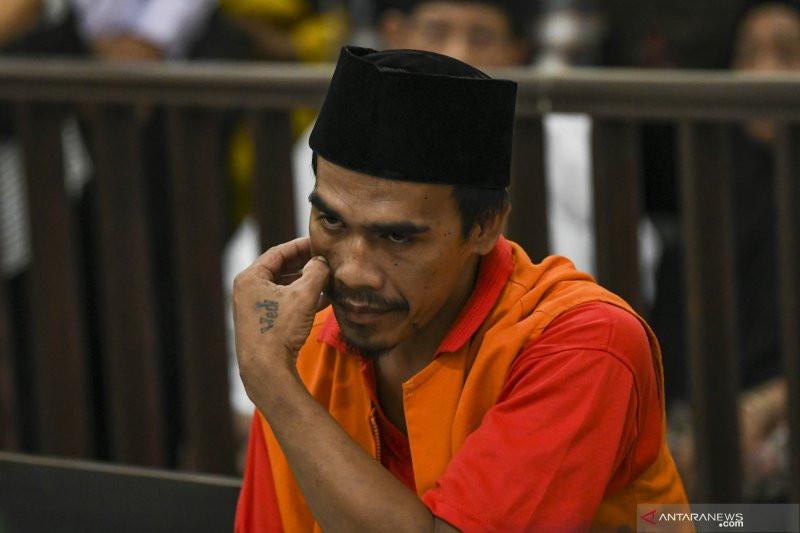Tok, Akbar Alfarisi Divonis Hukuman Mati, Coba Lihat Nih Ekspresinya - JPNN.com