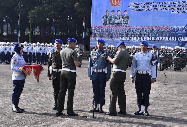 POM TNI Gelar Operasi Gaktib dan Yustisi Tahun 2020 - JPNN.com
