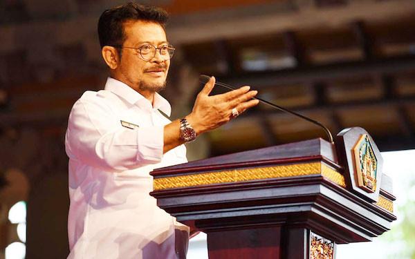 Survei Indo Barometer: Syahrul Yasin Limpo Menteri Berkinerja Baik - JPNN.com