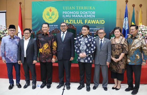 Ketua Mpr Menghadiri Sidang Promosi Doktor Untuk Jazilul Fawaid Jpnn Com