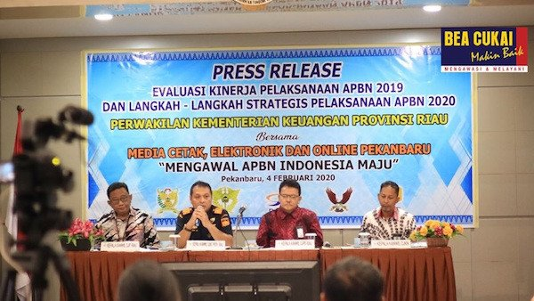 Kakanwil Bea Cukai Riau Paparkan Kinerja Kemenkeu di 2019 - JPNN.com