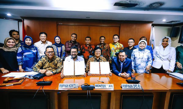 Komite II DPD RI dan Kementerian LHK Bekerja Sama Untuk Sejahterakan Daerah - JPNN.com