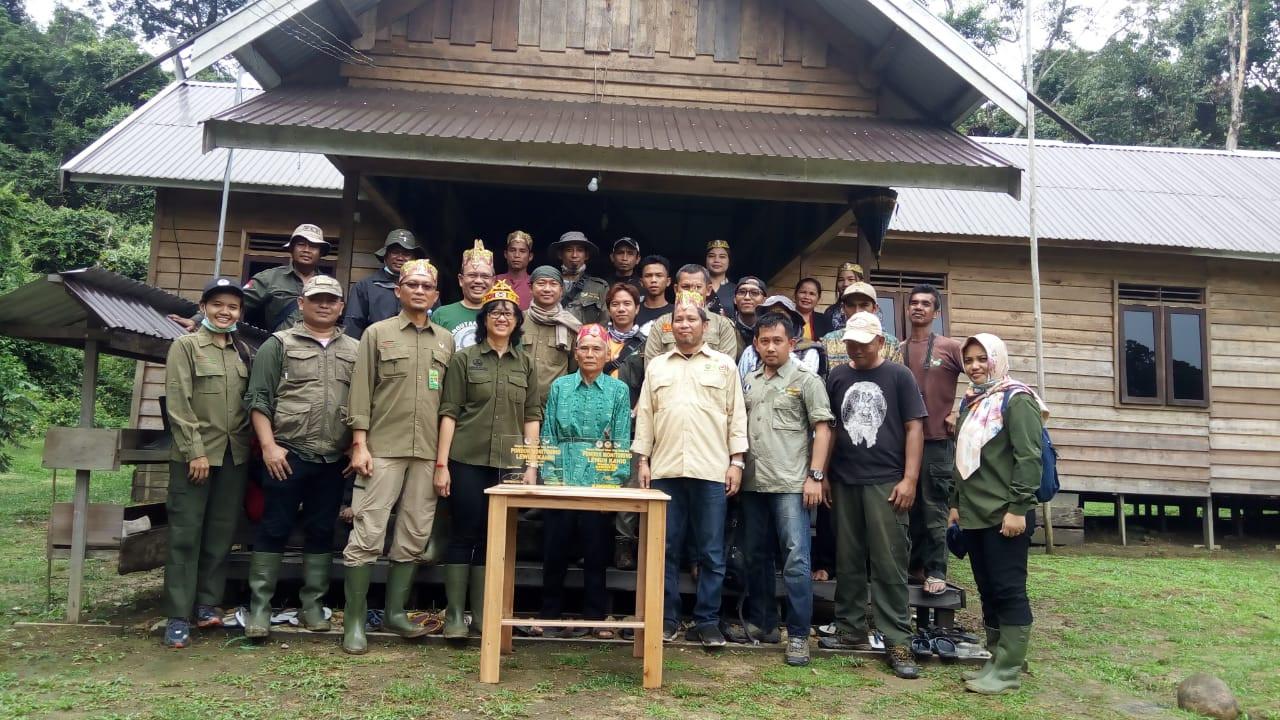 Batola, Paduran dan Unyu Dilepas di Taman Nasional Bukit Baka Bukit Raya - JPNN.com