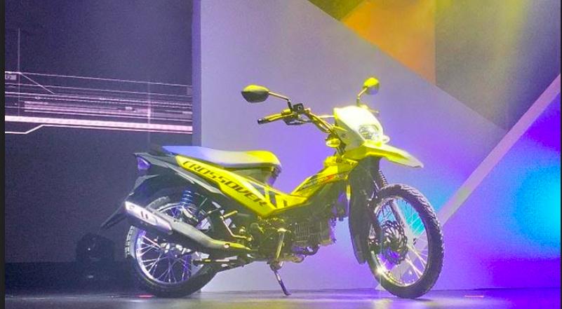 Unik, Suzuki Luncurkan Motor Bebek Rasa Trail - JPNN.com