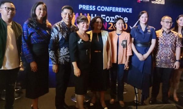 Misi Mulia IBCWE dan UN via Women HeForShe Run 2020 - JPNN.com