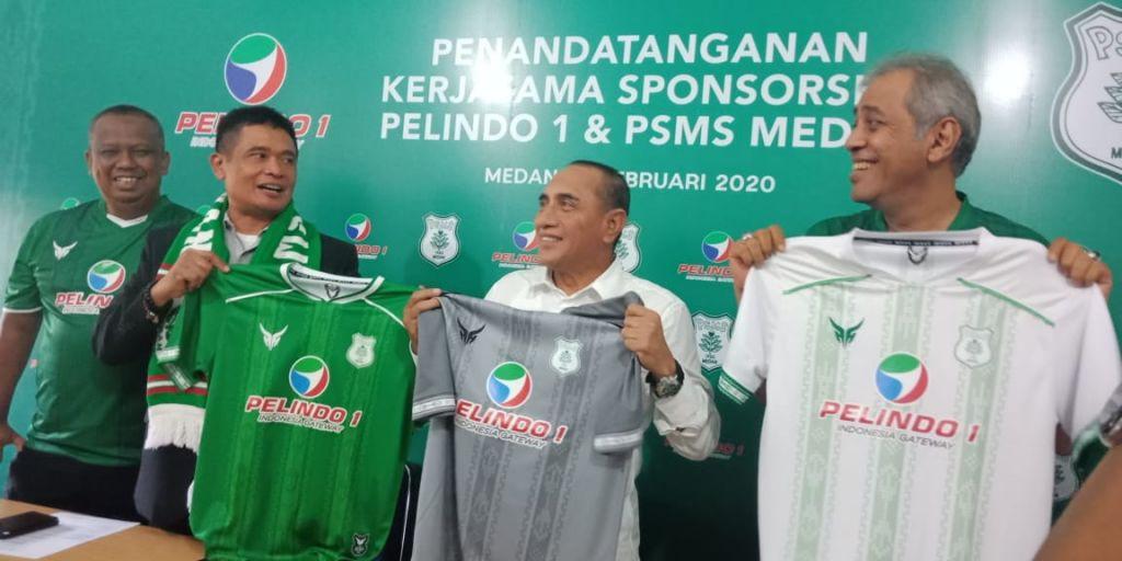Jadi Sponsor Utama PSMS, Pelindo I Kucurkan Rp1 Miliar - JPNN.com