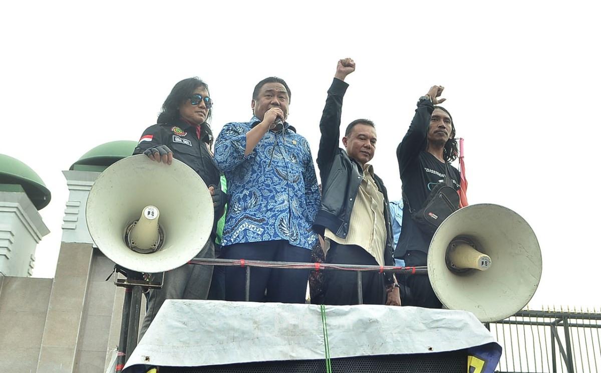 Gobel Akan Panggil Anggota DPR Pemicu Driver Ojek Online Marah - JPNN.com