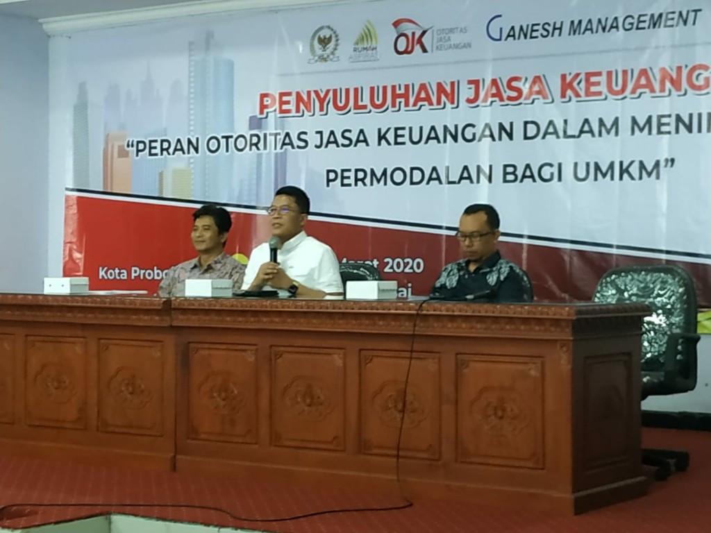 Misbakhun Gandeng OJK Sosialisasikan Akses Permodalan bagi UMKM - JPNN.com