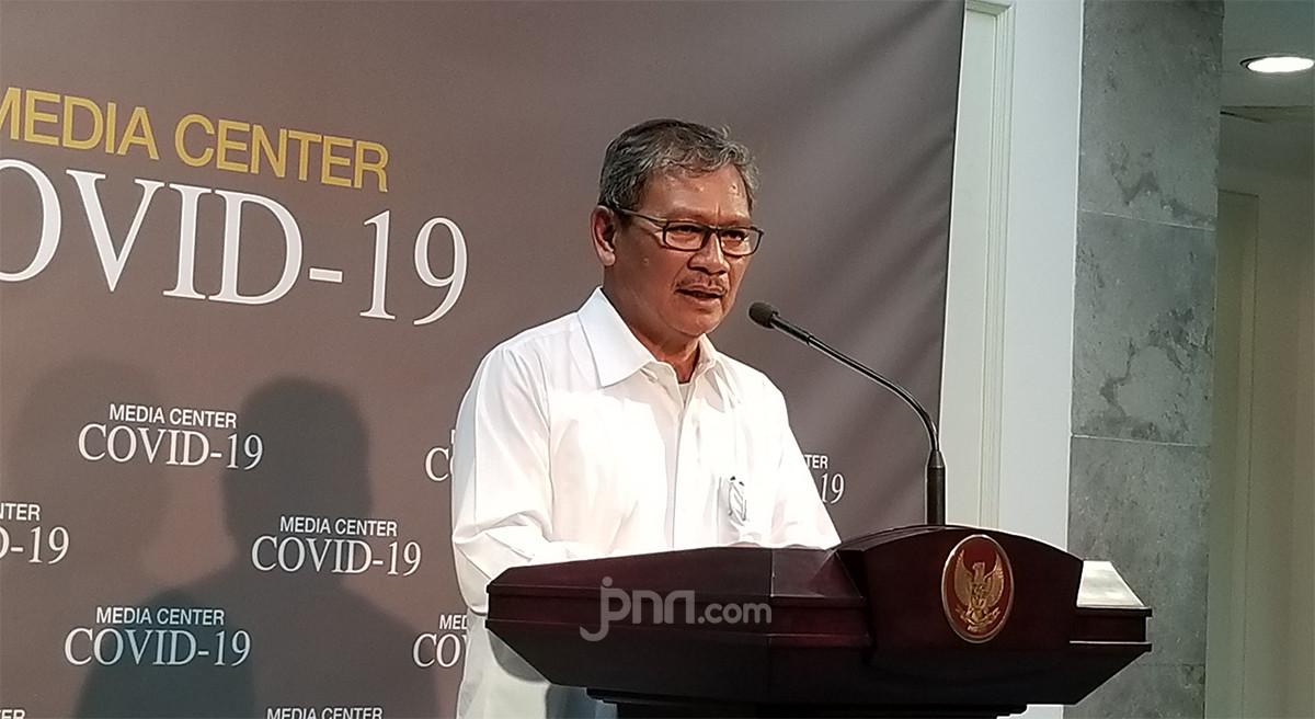Update Corona 4 Juni: Kabar Baik dari Yurianto untuk Jawa Timur - JPNN.com