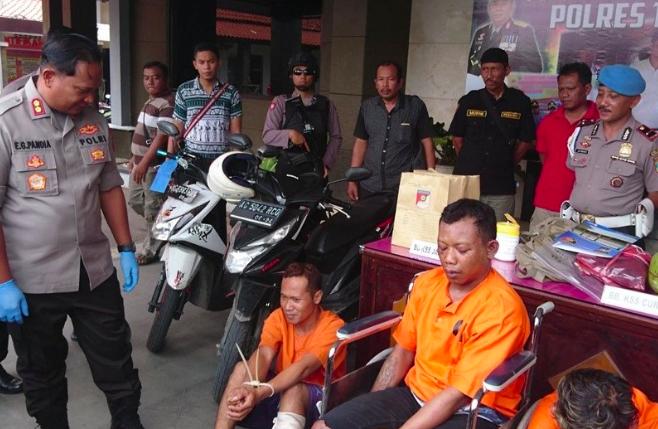 Dramatis, Pria Ini Ditembak Polisi Tepat di Depan Istri Muda - JPNN.com