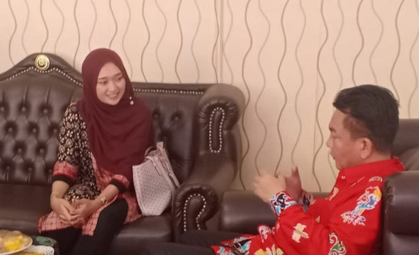 Bahas Potensi Wisata,Senator Jihan Nurlela Kunjungi Dinas Parawisata Lampung - JPNN.com