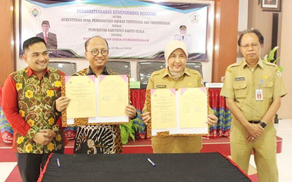 BLM Banjarmasin Dorong Pembangunan Desa Percontohan - JPNN.com