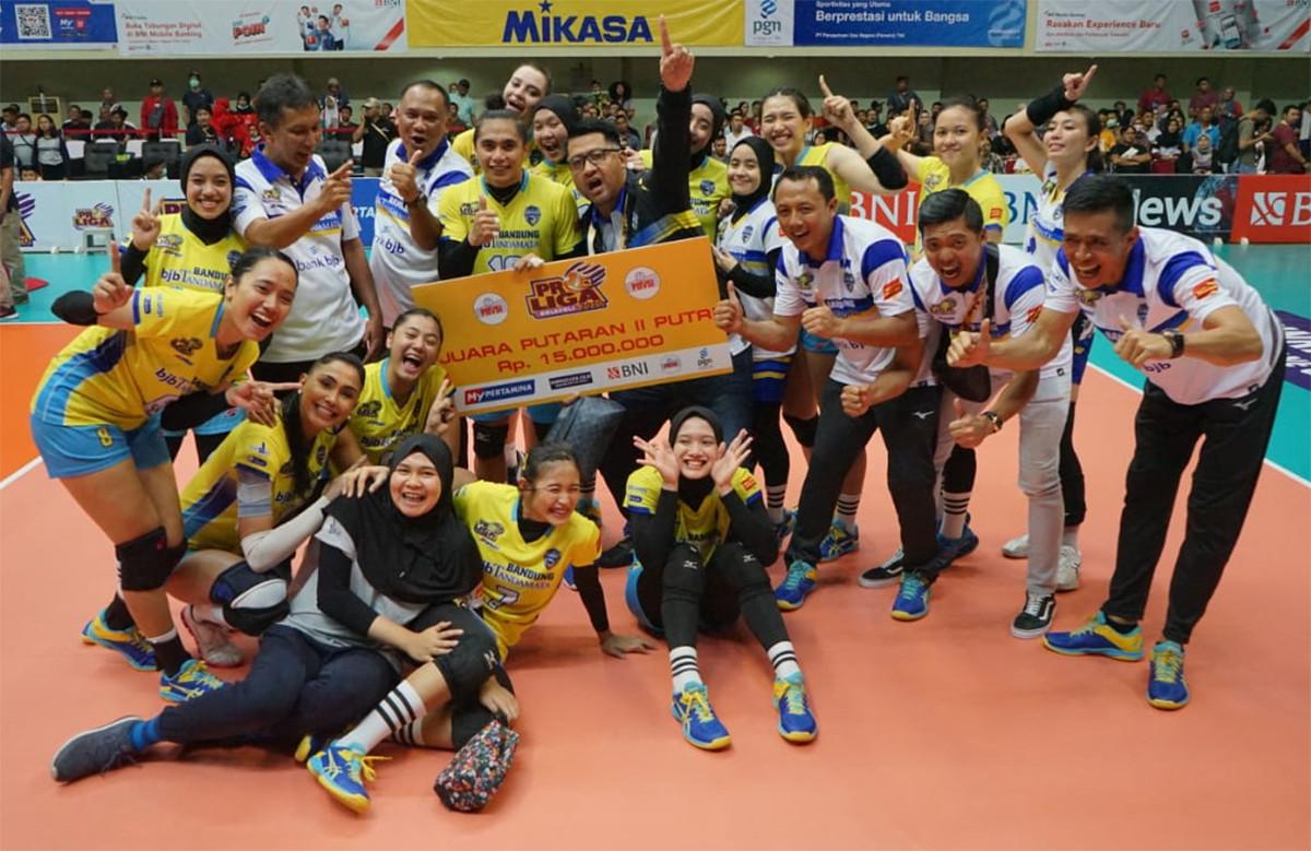 Bandung BJB Tandamata jadi Kampiun Putaran II Proliga 2020 - JPNN.com