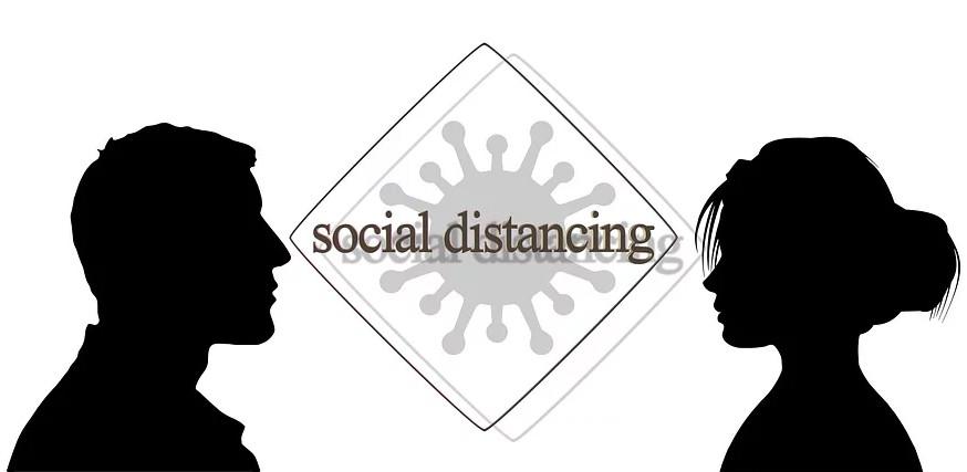Warga di Dua Kabupaten Ini Santai, Tak Peduli Imbauan Social Distancing - JPNN.com