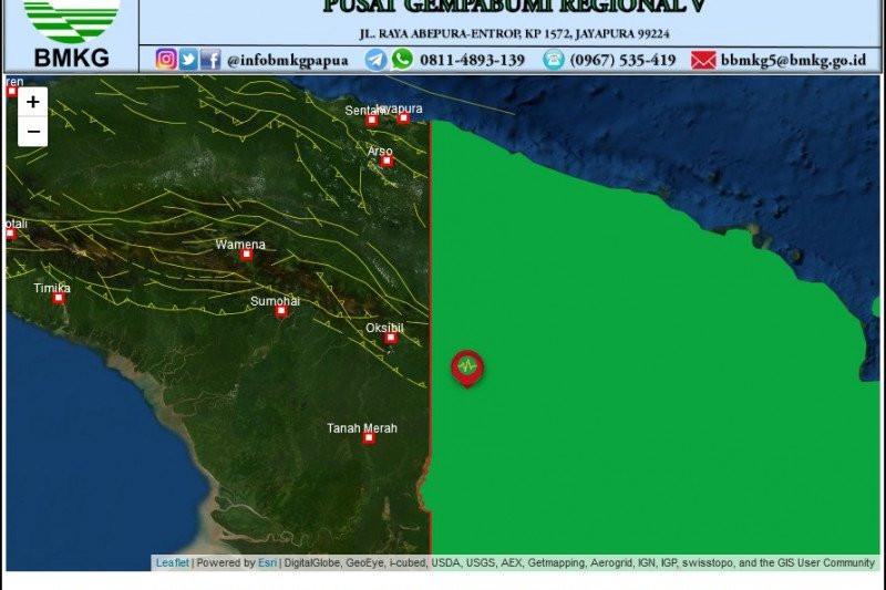 Boven Digoel Papua Diguncang Gempa Magnitudo 5,0 - JPNN.com
